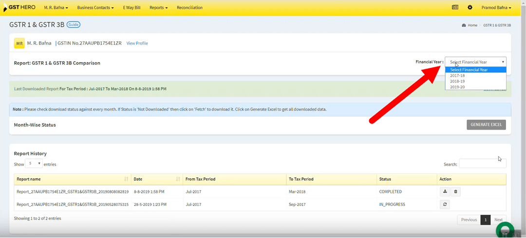 how to file gstr 9 online