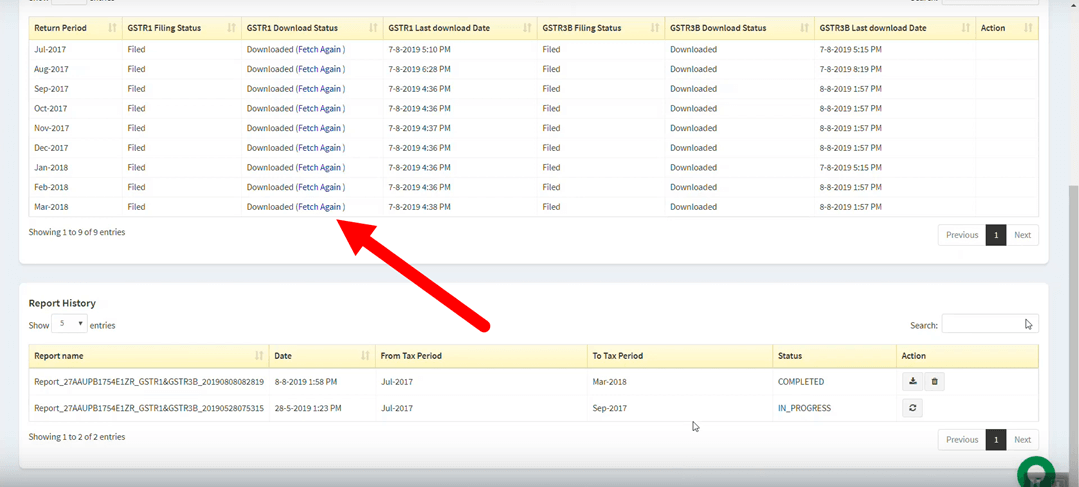 how to file gstr 9a online