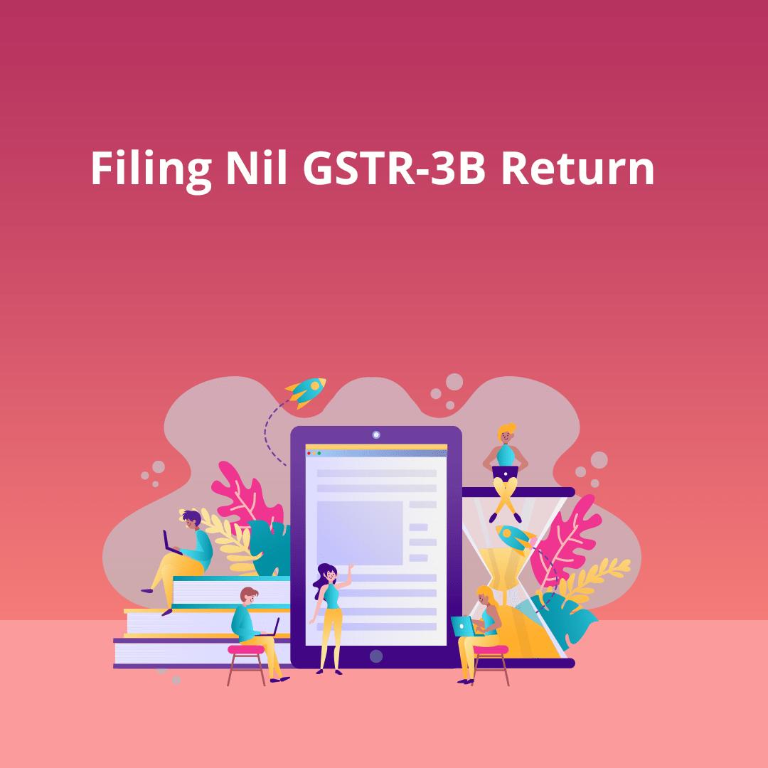GSTR-3B filing