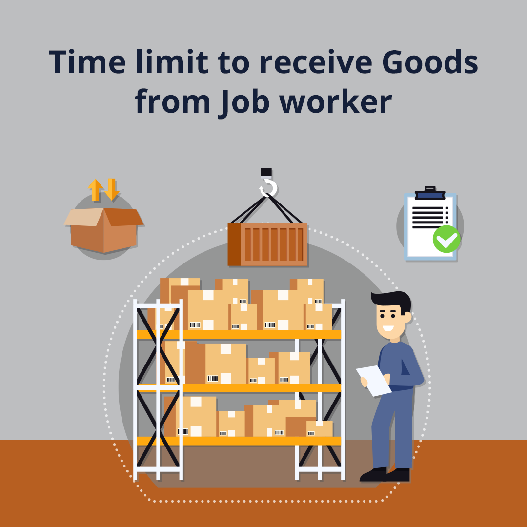 Time limit to receive Goods from Job worker