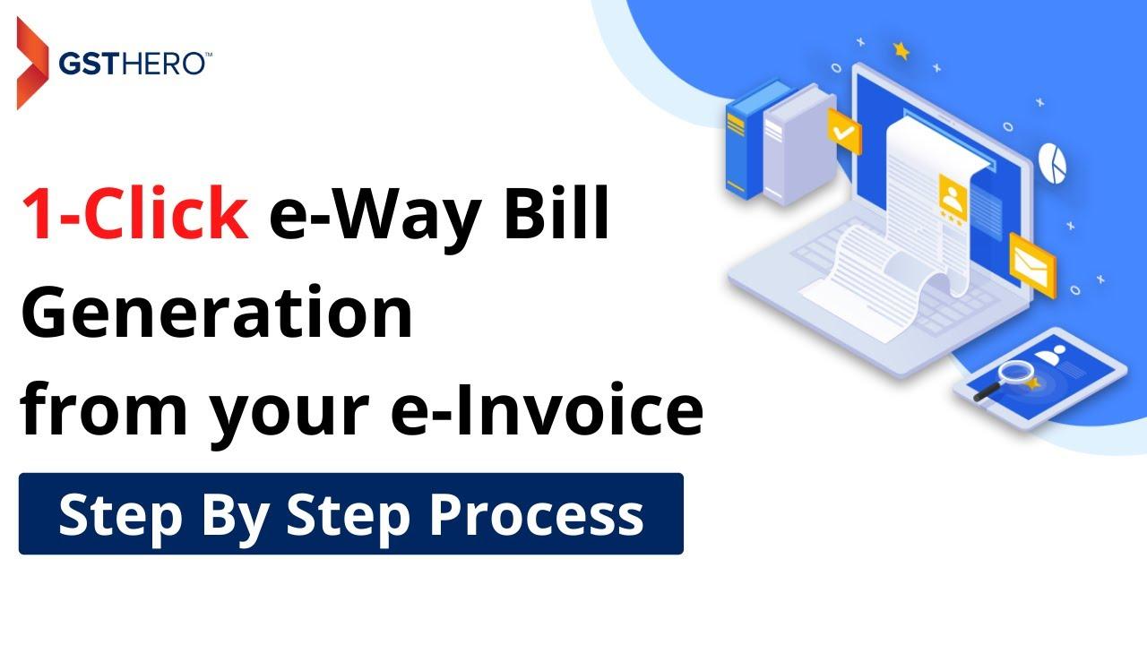e way bill generation