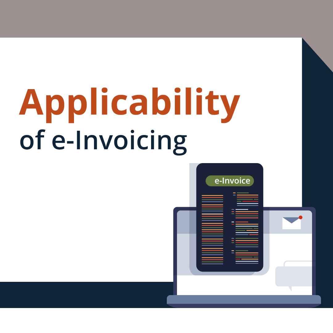 applicability of e invoicing under gst