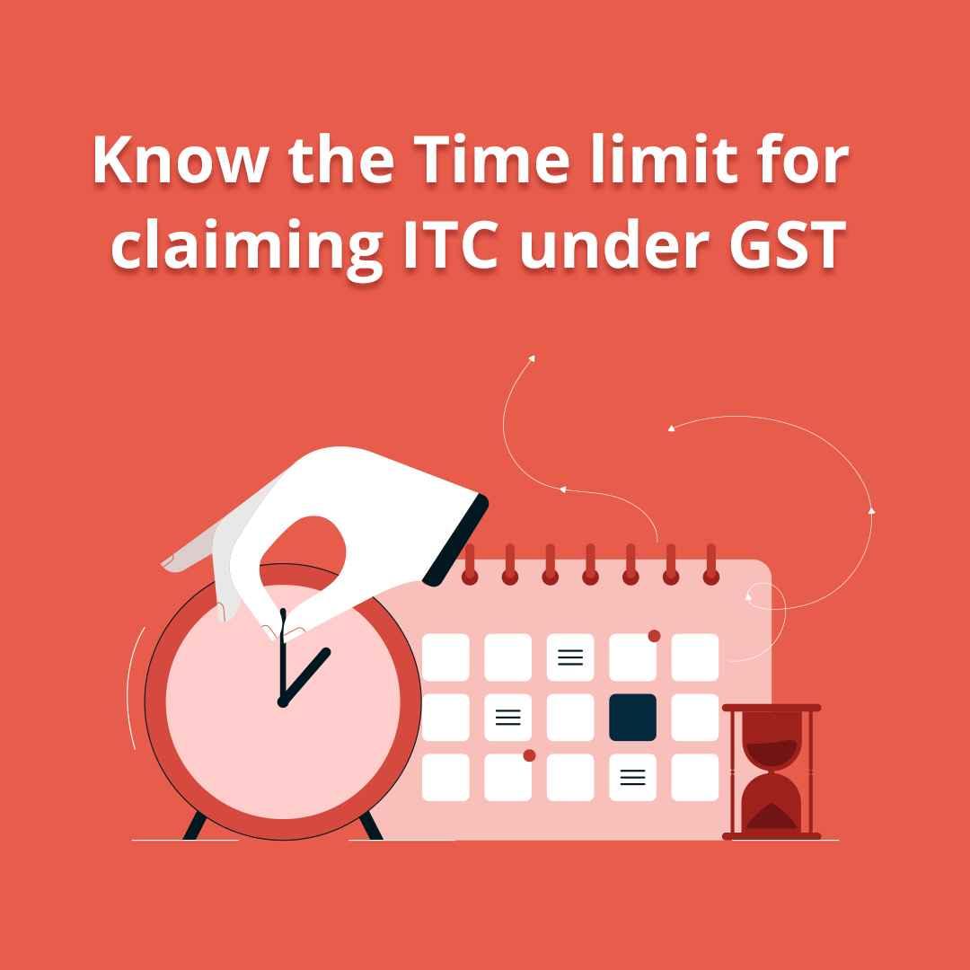 input tax credit time limit