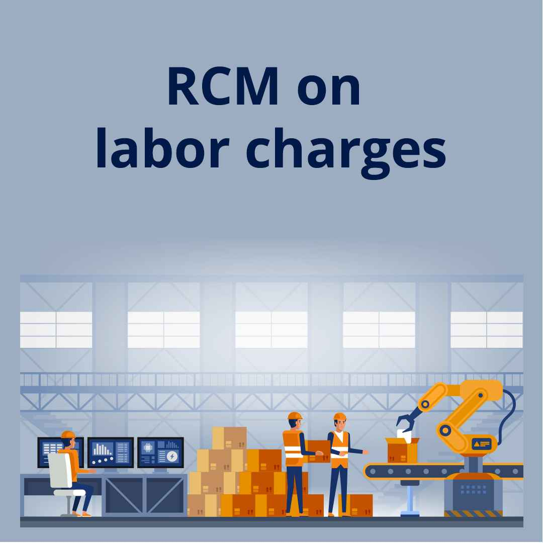 RCM on labor charges