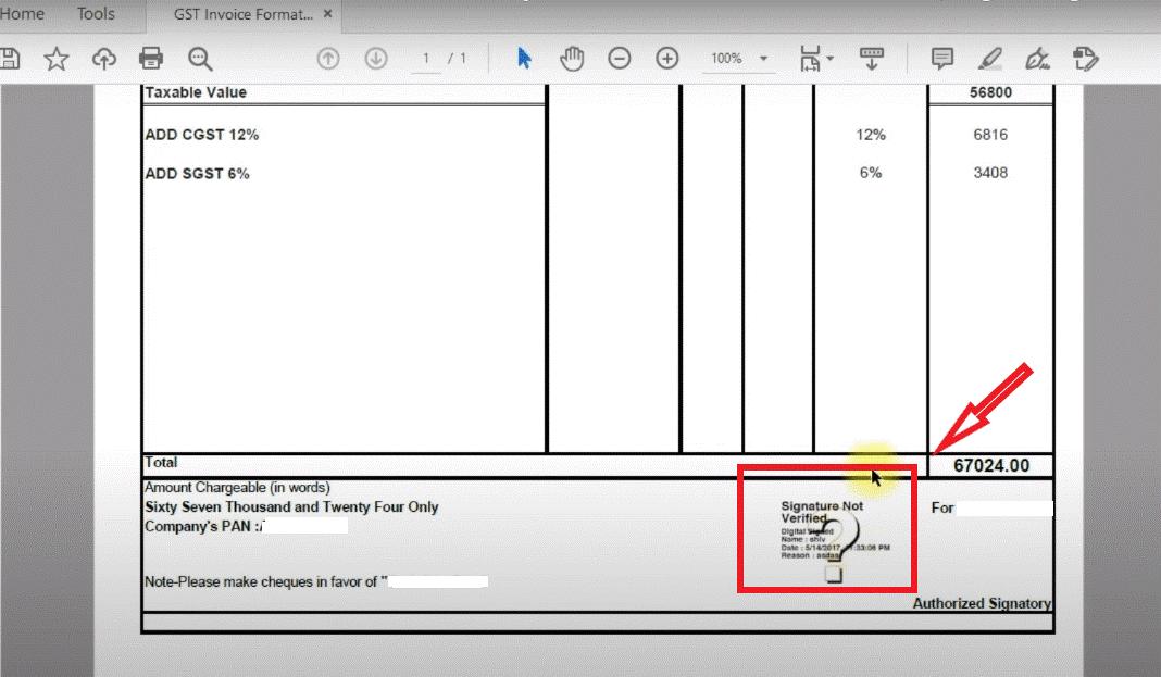digital signing pdf