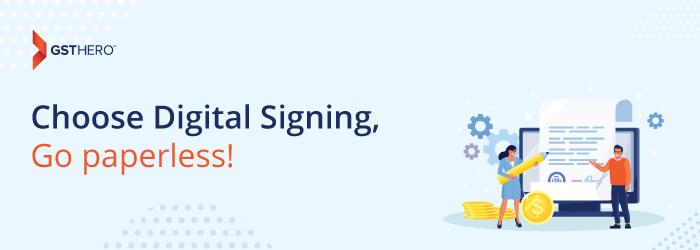 digital signing solution